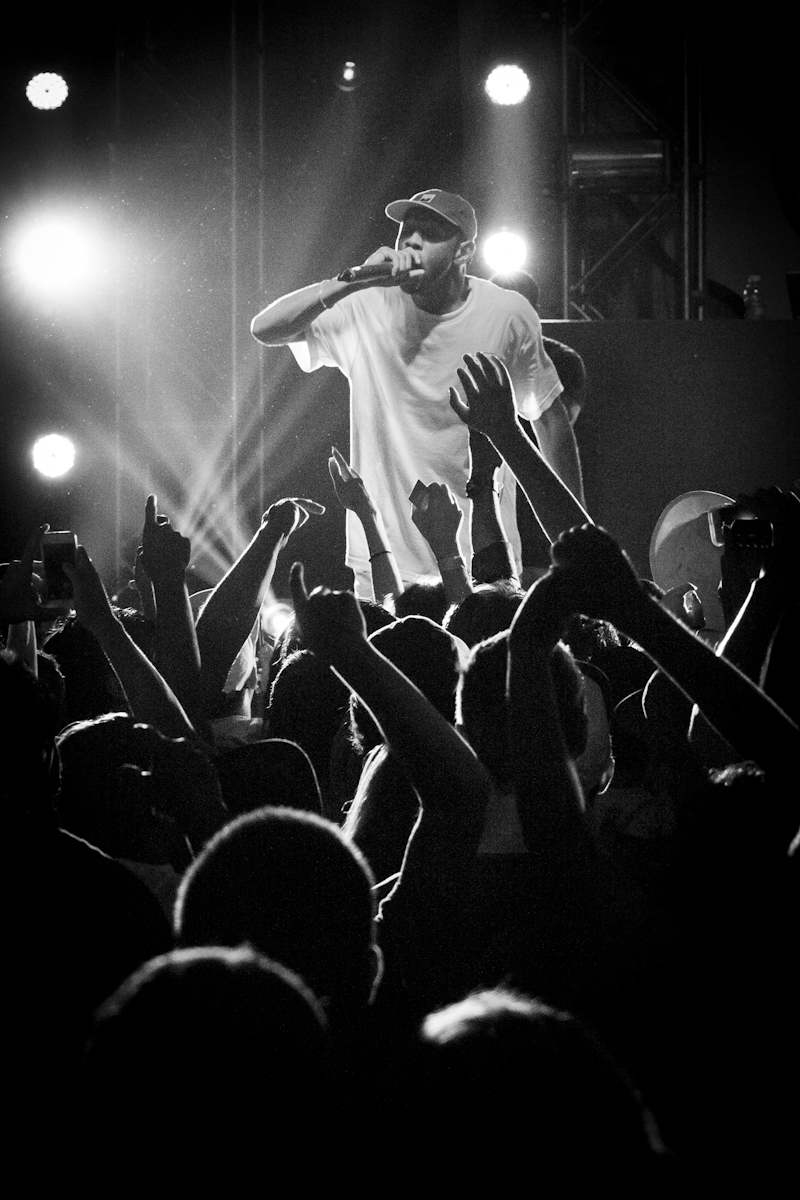 Tyler the Creator at Town Ballroom in Buffalo, NY for Buffablo. June 2015.