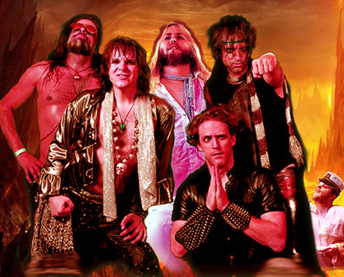 New York City Glam Metal Tribute Band Tragedy Will Be Making A Stop At The Studio Waiting Room Tonight On Their Tour Equal Parts 80s Metallica