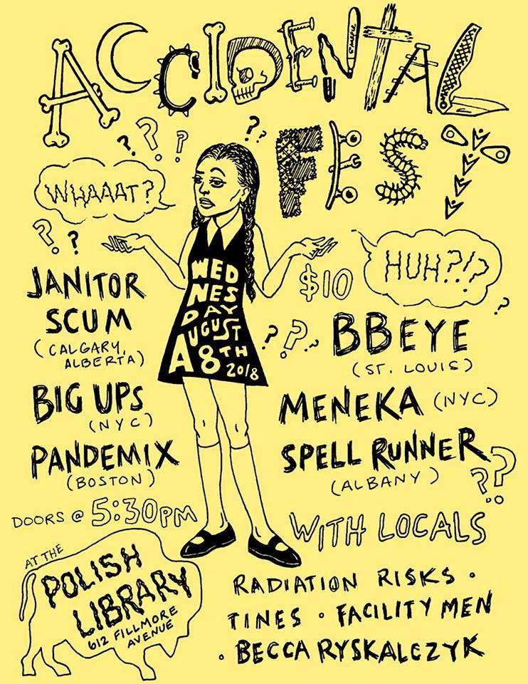 Accidental Fest Poster